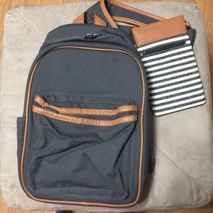 NWOT Sling-Back Backpack & Eyeglass case combo